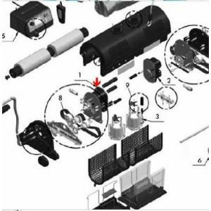 Procopi 1017918 - Moteur principal de traction UltraMax