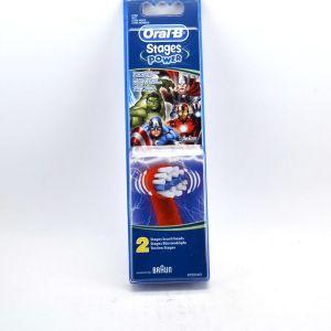 Oral-B 2 brossettes Marvel Avengers Power 2-pack
