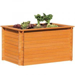 Gaspo Classic - Carré potager bois surélevé 150 x 100 x 85 cm