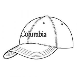 Columbia Casquette Roc Ii White Cap Blanc 30726