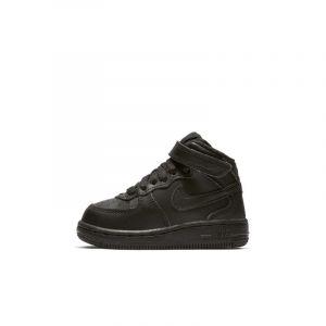 Nike Chaussure Air Force 1 Mid pour Bébé/Petit enfant - Noir - Taille 17 - Unisex