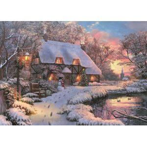 Jumbo spiele Puzzle 1000 FALCON - The Poet's Cottage