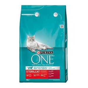 Purina ONE SterilCat b%u0153uf pour chat - 3 kg