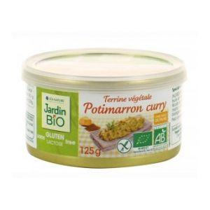 Jardin Bio Terrine végétale potimarron curry sans gluten (125g)