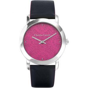 Christian Lacroix 8010603 - Montre pour femme avec bracelet en cuir