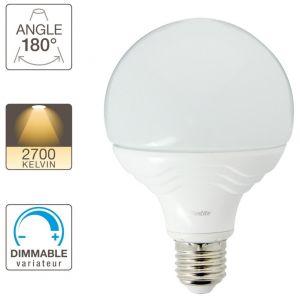 Xanlite Ampoule LED G95, culot E27, 14,8W cons. (100W eq.), lumière blanc chaud