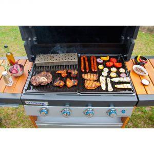 Campingaz 2000014572 - Fumoir universel en acier pour barbecue Gourmet