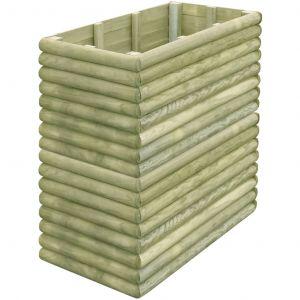VidaXL Jardinière 106 x 56 x 96 cm bois de pin imprégné
