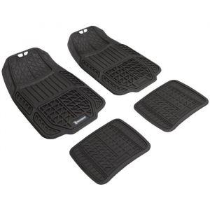 Michelin Tapis caoutchouc haute densité 4 pièces Noir