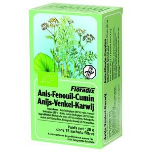 Salus Tisane Floradix Anis - Fenouil - Cumin 15 sachets