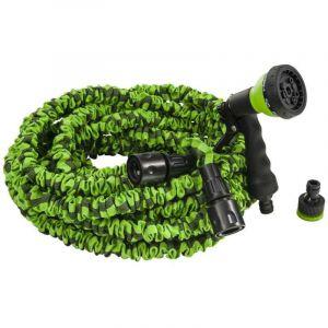 Rain Tuyau extensible vert 22m + pistolet Vert