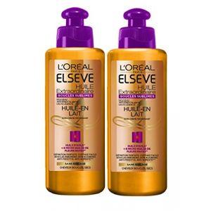 L'Oréal Elseve Huile Extraordinaire Soin sans Rinçage Cheveux Boucles 200 ml