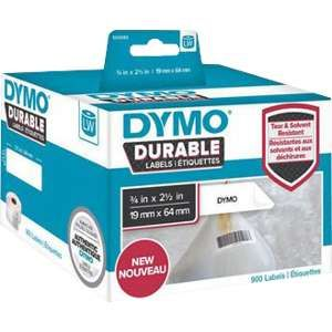 Dymo LabelWriter Durable 900 étiquettes code à barres 19x64mm