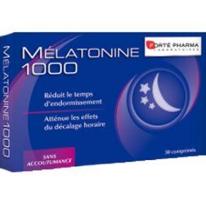 Forté pharma Mélatonine 1000 - 30 comprimés