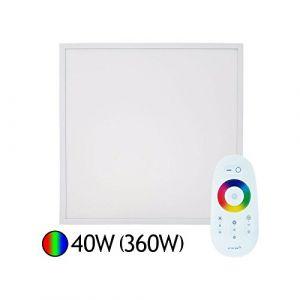 Vision-El Dalle Led 40W (360W) 600x600 RGB avec télécommande RF
