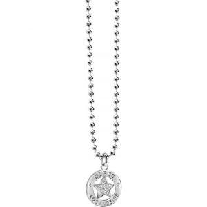Guess UBN21599 - Collier et pendentif Plaque Imprimé  pour femme