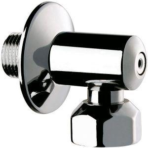Delabie 836020 - Raccord équerre STOP robinet D arrêt male 15x21 femelle 20x27