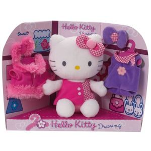 Jemini Peluche dressing Hello Kitty 20 cm