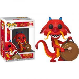 Funko Figurine Pop! Mushu Avec Gong - Disney Mulan