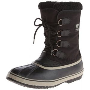 Sorel Chaussures après-ski 1964 Pac Nylon Black / Tusk Man