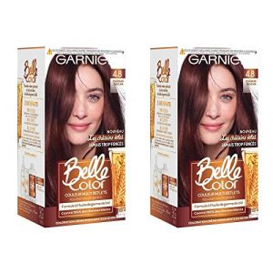 Garnier Belle Color 4.8 Châtain Mocha - Couleur multi reflets