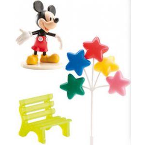 Dekora Kit décoration pour gâteau Mickey Mouse