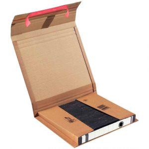 Mailmedia CP 050.01 - Carton d'expédition ColomPac pour classeur, dim. 320 x 290 x 35-80 mm interne