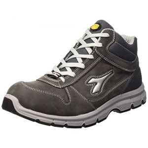 Diadora Run High S3, Chaussures de travail mixte adulte, Gris (Grigio Castello), 44 EU
