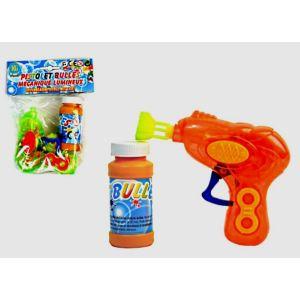 Bg Pistolet à bulles mécanique et lumineux (couleur aléatoire)