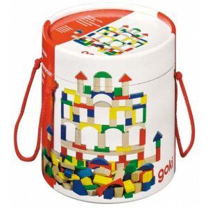 Goki 58669 - Baril de construction 100 pièces