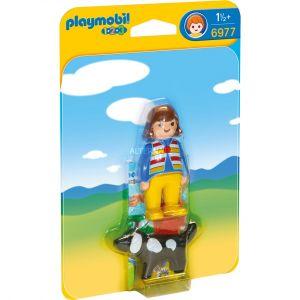 Playmobil 6977 - Femme avec un chien