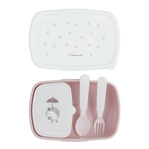 Bloomingville Lunch Box Princess 4 Pièces Rose