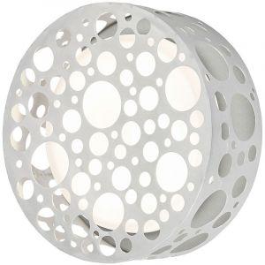 Eglo Une applique en aluminium et en verre pour la terrasse