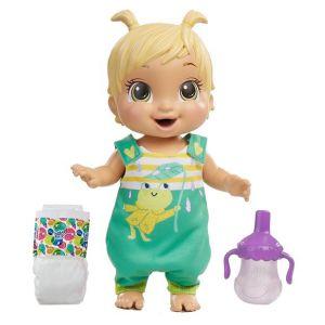 Hasbro Baby Alive - Bébé Sautille - Poupee cheveux blonds