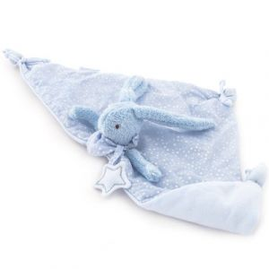 Pasito a pasito Doudou plat Baby Etoile lapin bleu (51 x 25 cm)