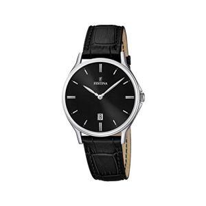 Festina F16745 - Montre pour homme avec bracelet en cuir