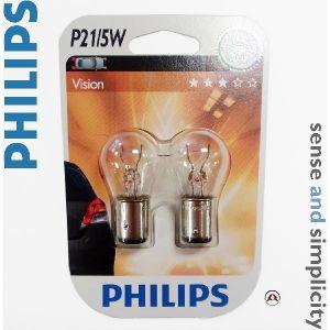 Philips 2 Ampoules P21/5W 21W/5W 12 V