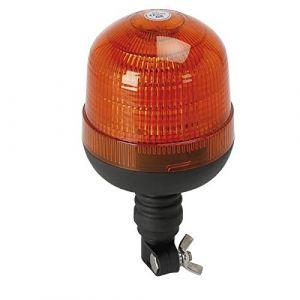 Spotlight Gyrophare gyroflash 18 LED avec tige flexible