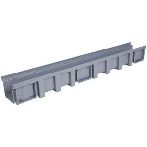 Nicoll Caniveau PVC série CONNECTO 130x115x1000mm