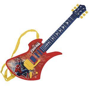Guitare électronique avec micro Spiderman