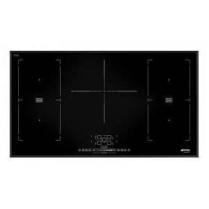 Smeg SIM592B - Table de cuisson à induction 5 foyers