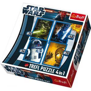 Legler 8489 - Puzzle 4 en 1 «Star Wars»