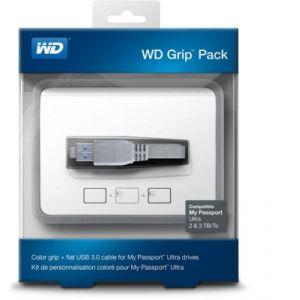 Western Digital WDBFMT0000NBA - Grip Pack (coque + câble USB 3.0) pour My Passport Ultra