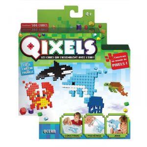 Kanaï Kids Mini kit 4 créations Qixels : Théme Ocean saison 3