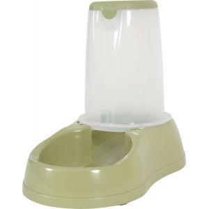 Zolux Distributeur de croquettes antidérapant vert pastel - 3,5 kg