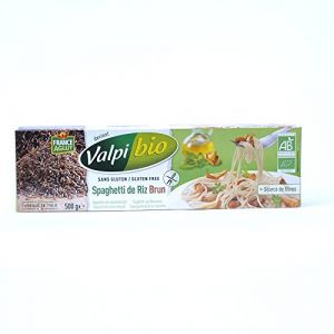 Valpibio Spaghetti de riz brun Bio 500g