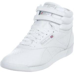 Reebok F/S Hi, Baskets mode femme - Blanc (White/Silver), 41 EU (7.5 UK) (10 US)