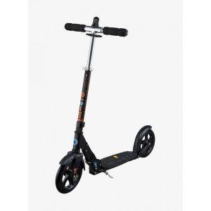Micro Trottinette Black Deluxe - suspension avant systeme cadenas integre - Grip Vibram Noir Mobility