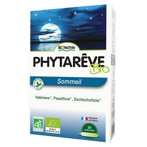 Biotechnie Phytarêve Sommeil 20 ampoules