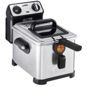 Seb FR518100 Friteuse Semi-Professionnelle Filtra Pro 4L 2300W Frites Poulet Capacité 1,3kg Cuve Amovible Thermostat Réglable Inox